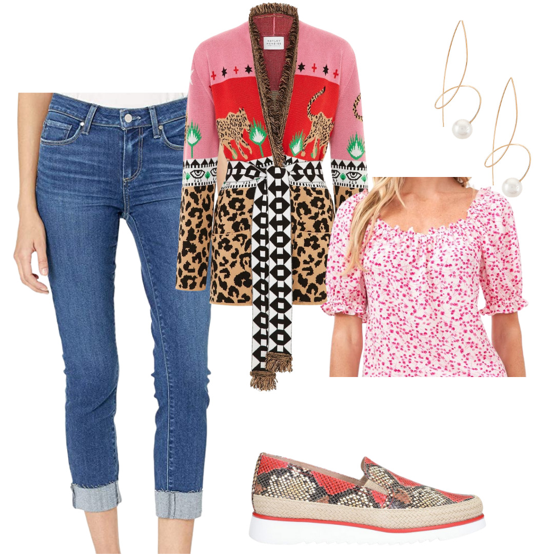 How to Style Jeans 4 Ways for Spring, women's cuffed jeans, cuffed jeans, cuffed denim outfit