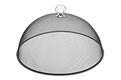 Divine Style Amazon Picks for kitchen, Kitchen Craft Large Metal Mesh Food Cover/Picnic Dome
