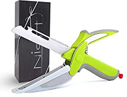 Divine Style Amazon Picks for kitchen, Nish salad food cutter scissor