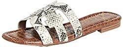 Divine Style Amazon women's spring fashion, Sam Edelman Bay Side Slide Snake Sandals