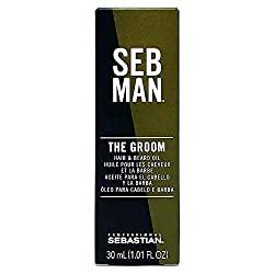 Divine Style Amazon Beauty, Sebastian SEB MAN The Groom Hair & Beard Oil