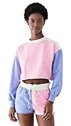 Divine Style Amazon women's summer essentials, Beach Riot Women's Ava sherbert Sweatshirt