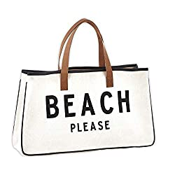 Divine Style Amazon women's summer essentials, Beach Please tote bag