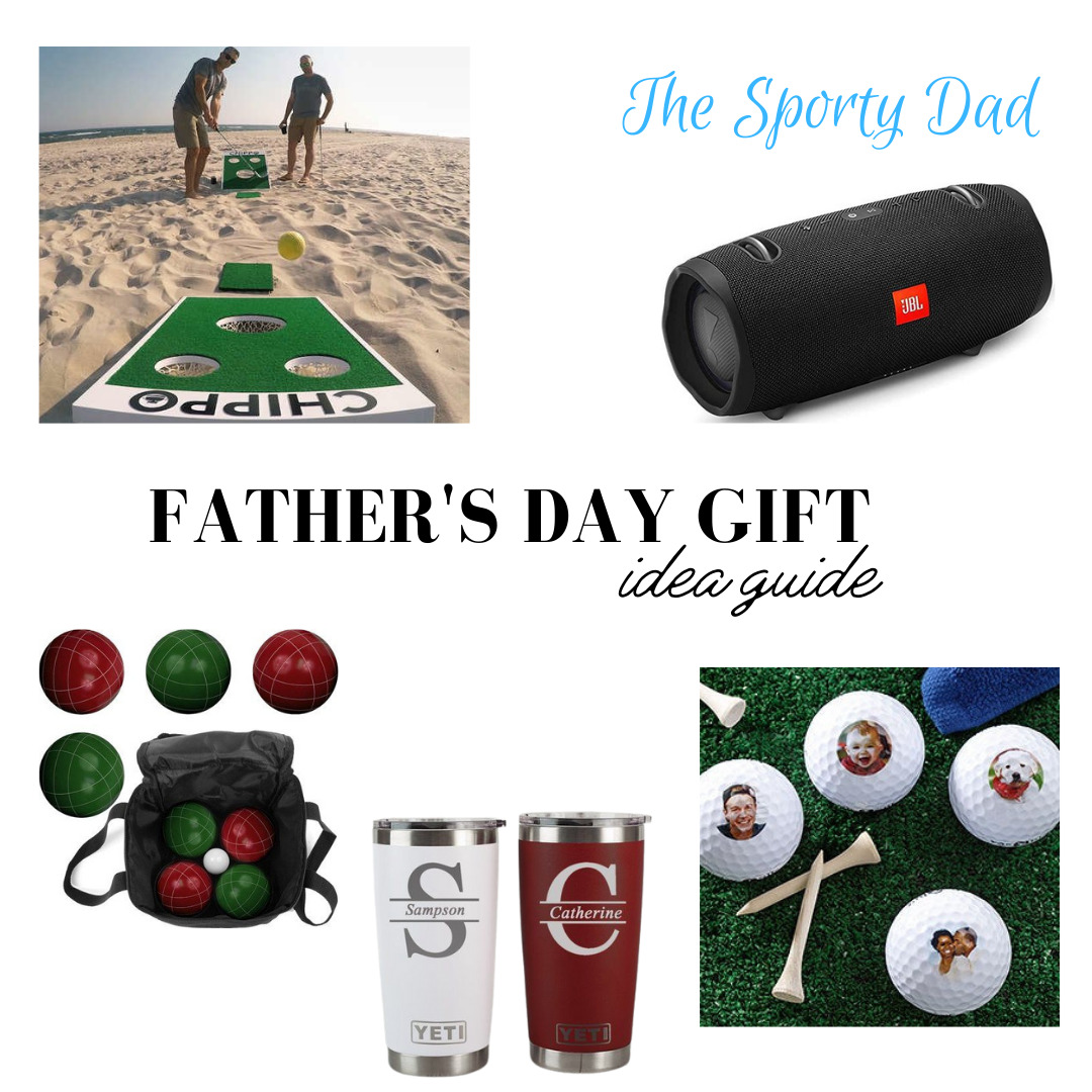 Father's Day Gift Idea Guide for the Sporty Dad