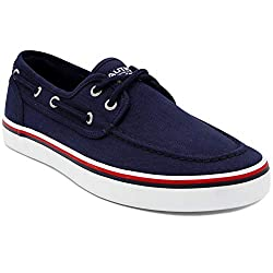 Divine Style Amazon Men's Summer Essentials, nautica men's lace up boat shoes navy herringbone with red