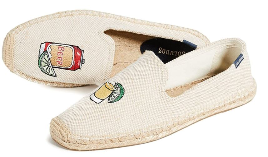 Divine Style Amazon Men's Summer Essentials, Soludos men's beer and shot smoking slippers
