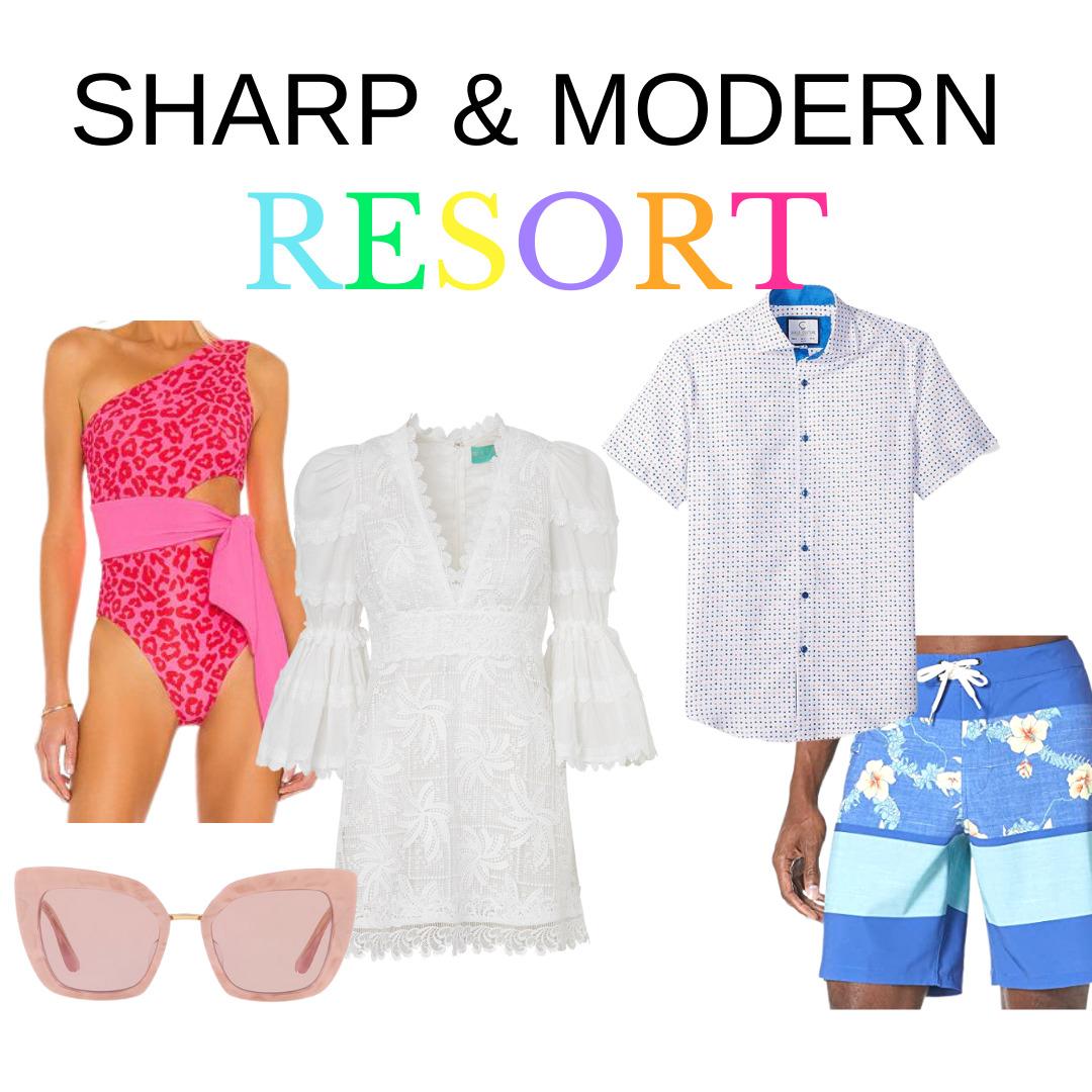 Summer Uniforms, Sharp and Modern Resort wear