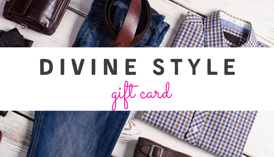 styling gift card, egift card, Divine Style gift card