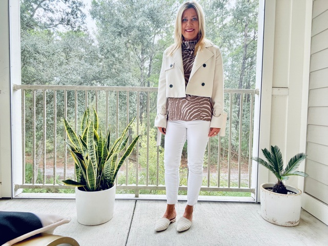 Dressing for Fall in Warm Climates, women's fall  jackets and layering, Divine Style, personal stylist
