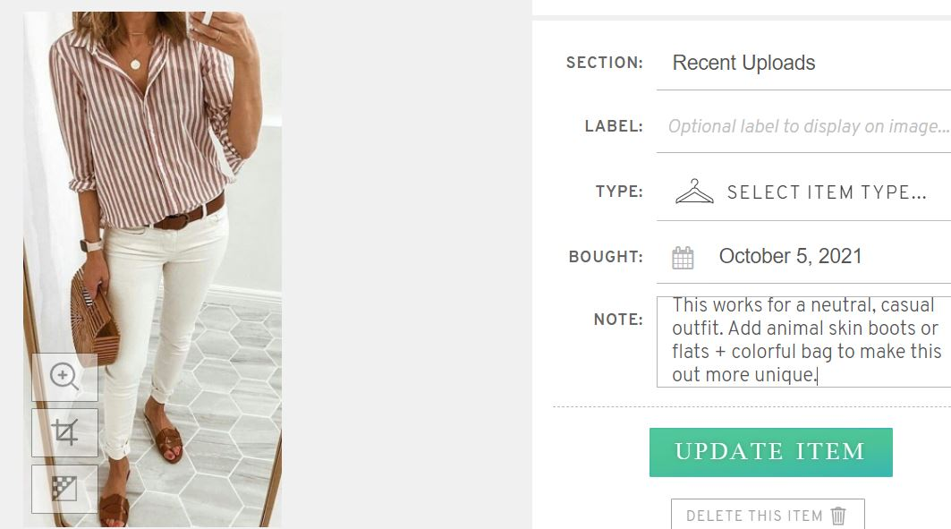 Virtual Styling Services...A Glimpse into a Virtual Closet Edit, women's closet edit, virtual closet edit, divine style